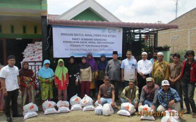 Kolaborasi Bantu Warga Sinabung