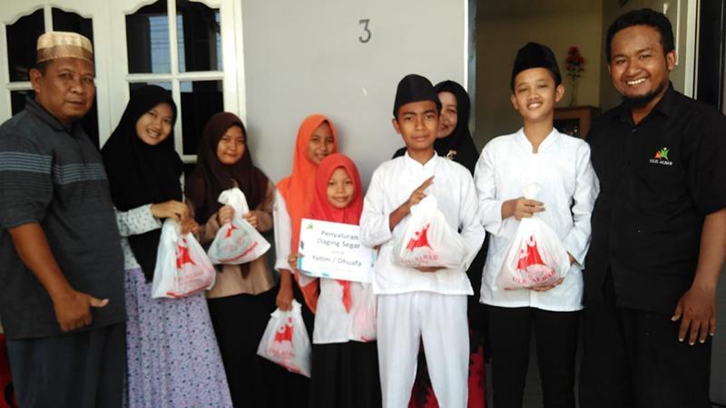 Daging Siap Olah Untuk 110 Keluarga