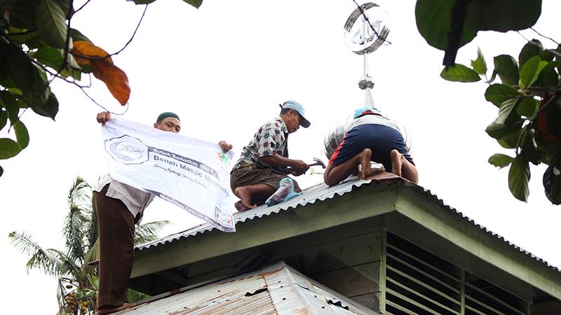 BMM Rapikan Fisik Masjid