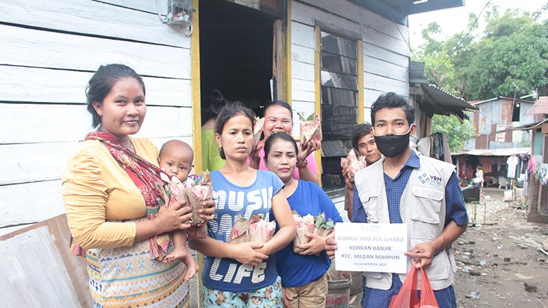 Kesigapan Relawan UA Bantu Korban Banjir