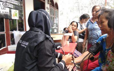 Posko Kesehatan Gratis Korban Banjir